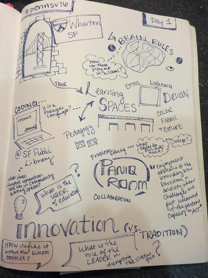 Notes #pennsv16 Day One