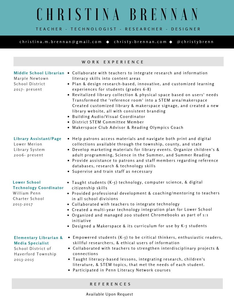 CBrennan Resume - Fall 2018 (1)
